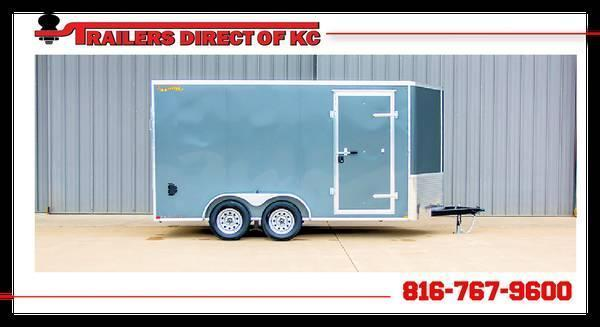 2021 Doolittle Trailer Mfg 7 x 14 Cargo Enclosed Cargo Trailer