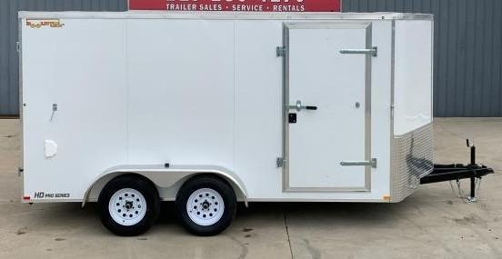2021 Doolittle Trailer Mfg 7 x 1 4 Enclosed Cargo Trailer