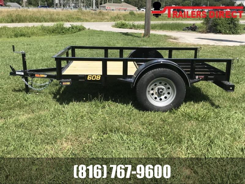 2020 Doolittle 60 x 8 RS Utility Trailer
