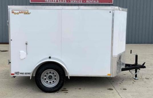 2022 Doolittle Trailer Mfg 5 X 8 Barn Door Cargo Enclosed Cargo Trailer