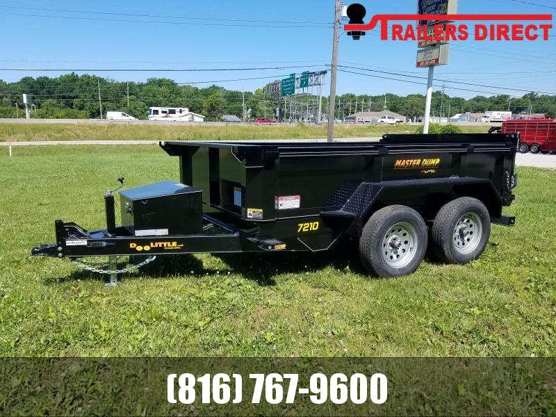 2021 Doolittle 72 x 10 Dump Trailer