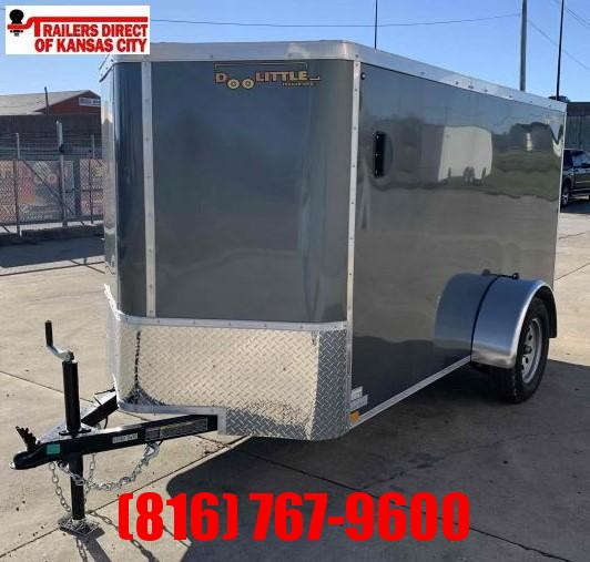 2021 Doolittle 6 X 10 Enclosed Cargo Trailer