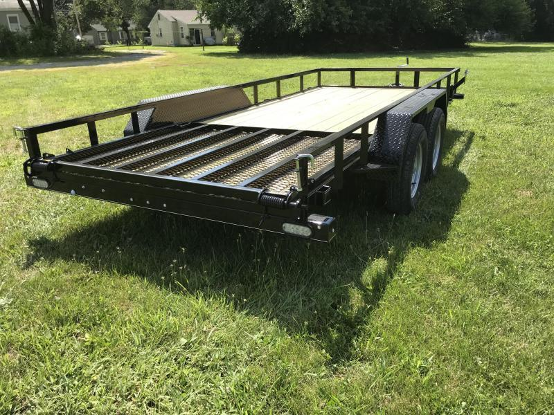 2021 Doolittle 77 x 16 Rally Sport Utility Trailer