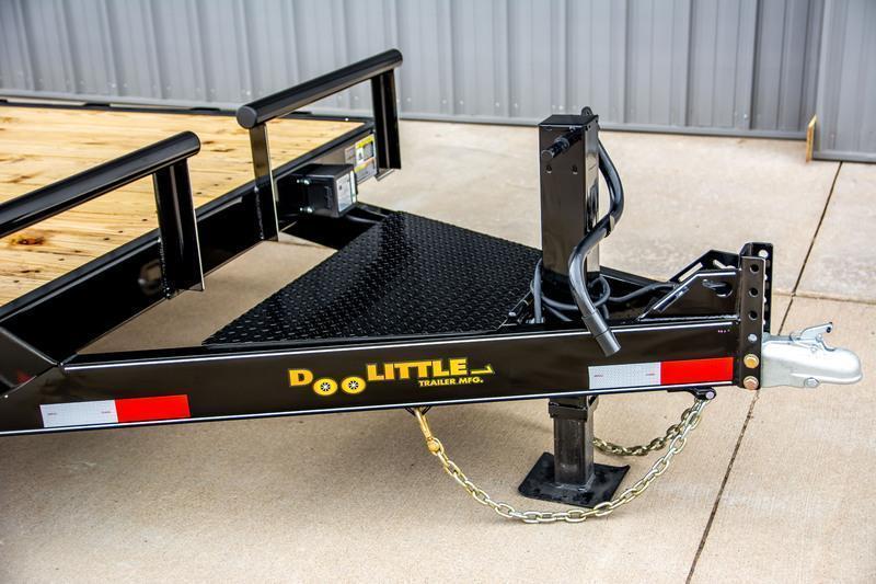 2021 Doolittle 82 x 22 Equipment Trailer