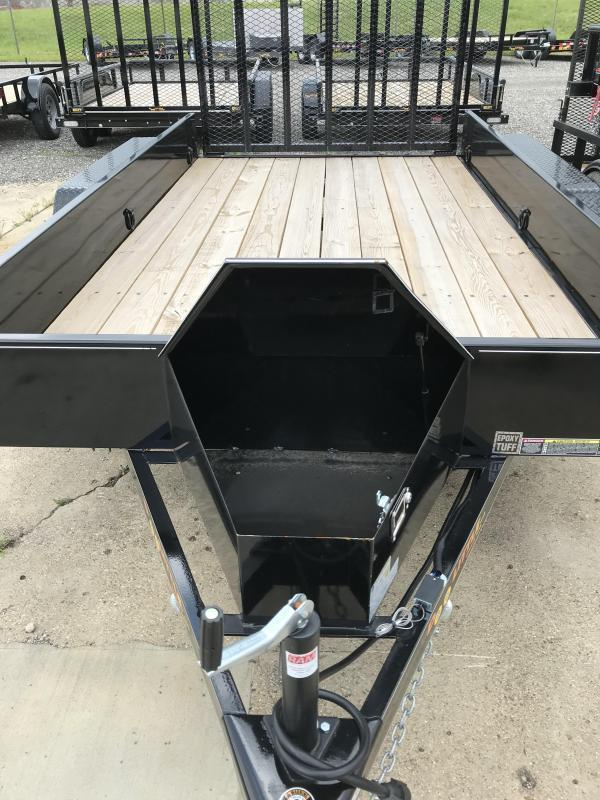 2021 Doolittle Trailer Mfg 77 x 10 SS Utility Trailer