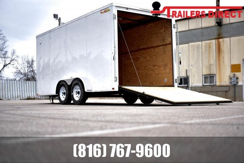 2021 Doolittle 7 X 16 Enclosed Cargo Trailer