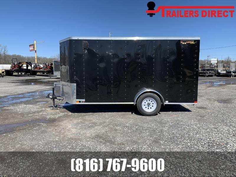 2021 Doolittle 6 x12 Enclosed Cargo Trailer