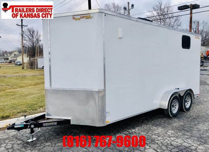 2021 Doolittle Trailer Mfg 7 x 16 Enclosed Cargo Trailer