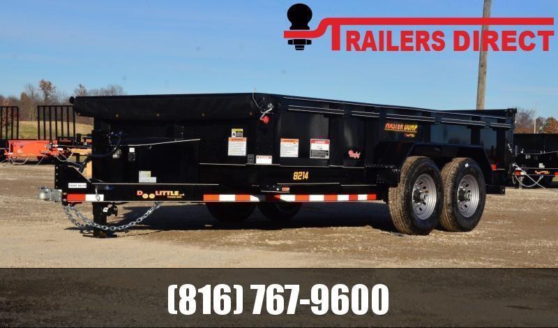 2021 Doolittle Trailer Mfg 82 X 14 Dump Trailer