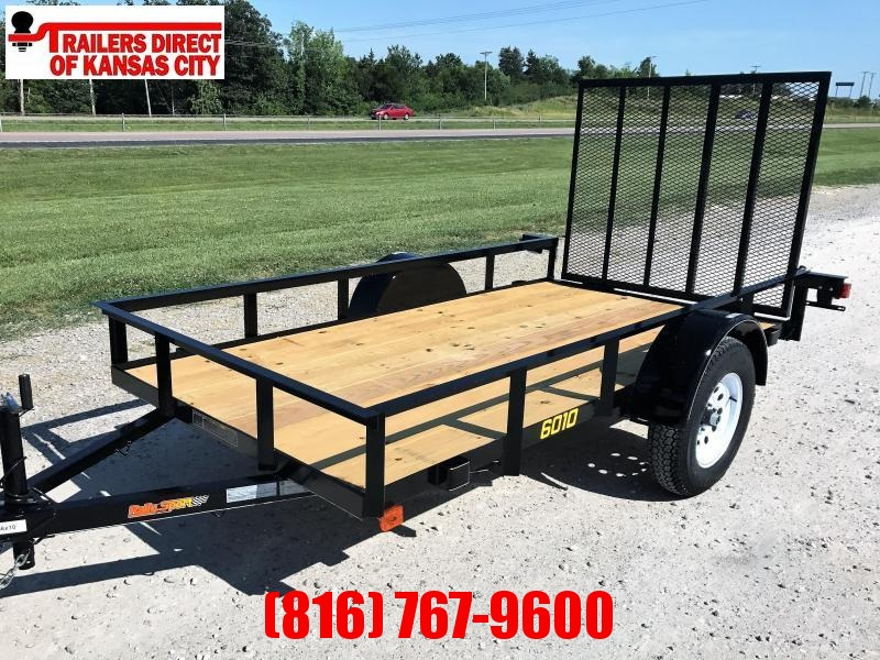 2021 Doolittle Trailer Mfg 60 x 10 RS Utility Trailer