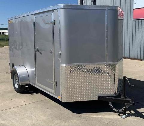 2022 Doolittle 6 x 12 Barn Door Enclosed Cargo Trailer
