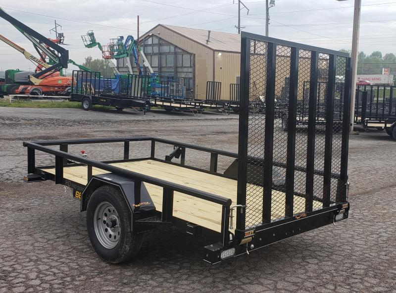 2021 Doolittle 66 X 10 Pipe Top Utility Trailer