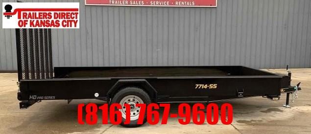 2021 Doolittle Trailer Mfg 77 x 14 SS Utility Utility Trailer