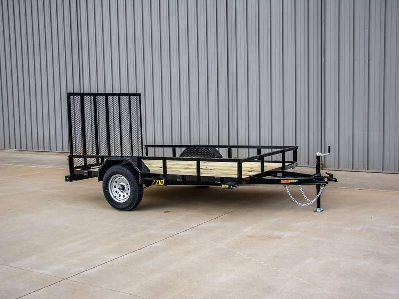 2021 Doolittle 77 x 10 Rally Sport Utility Trailer