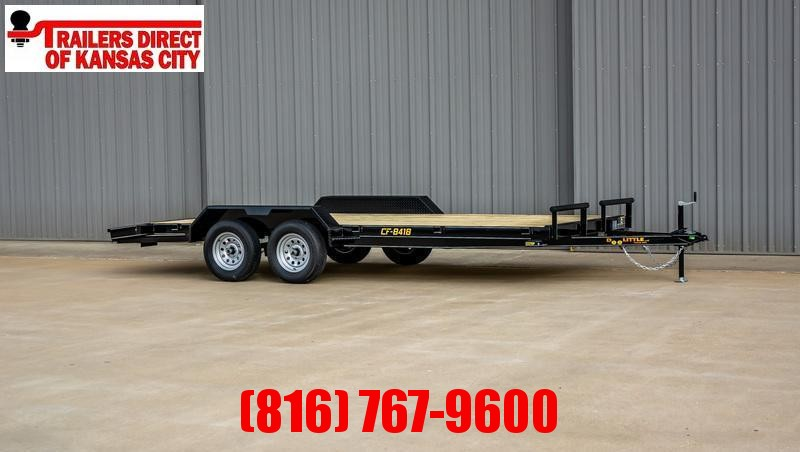 2021 Doolittle Trailer Mfg 84 x 18 CF Equipment Trailer