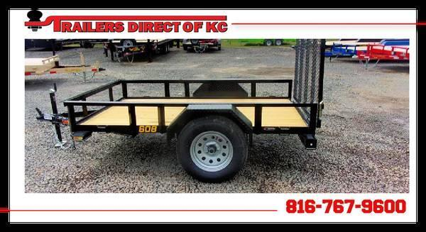 2021 Doolittle 60 x 8 Rally Sport Utility Trailer