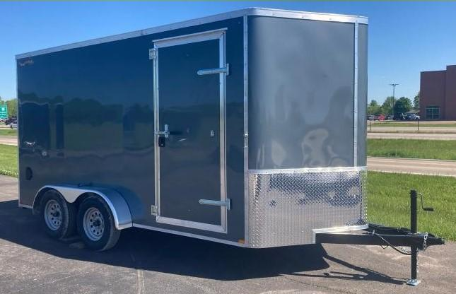 2022 Doolittle Trailer Mfg 7 X 14 Enclosed Cargo Trailer