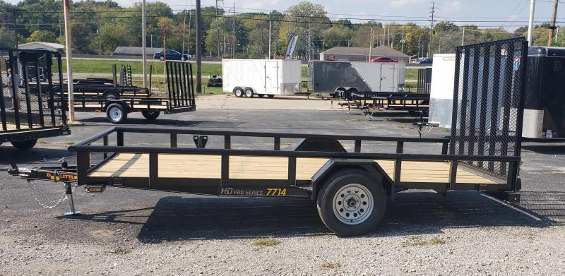 2021 Doolittle 77 x 14 Pipe Top Utility Trailer