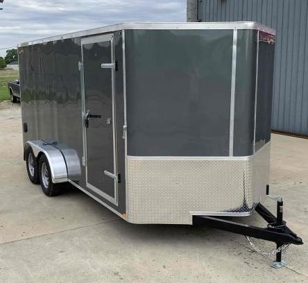 2022 Doolittle Trailer Mfg 7 X 16 Enclosed Cargo Trailer