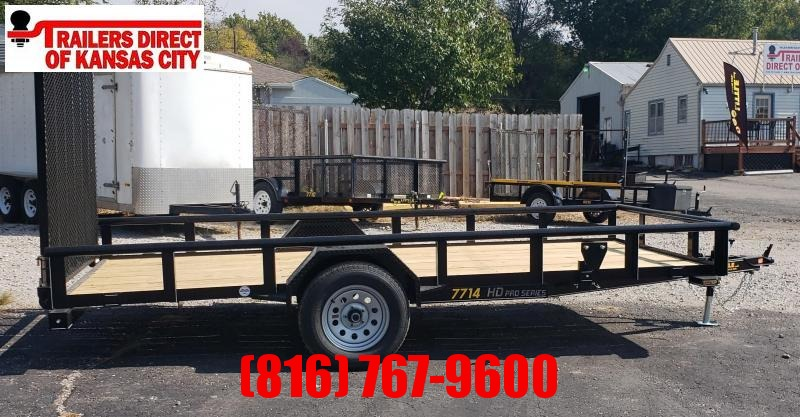 2021 Doolittle 77 x 14 Utility Trailer