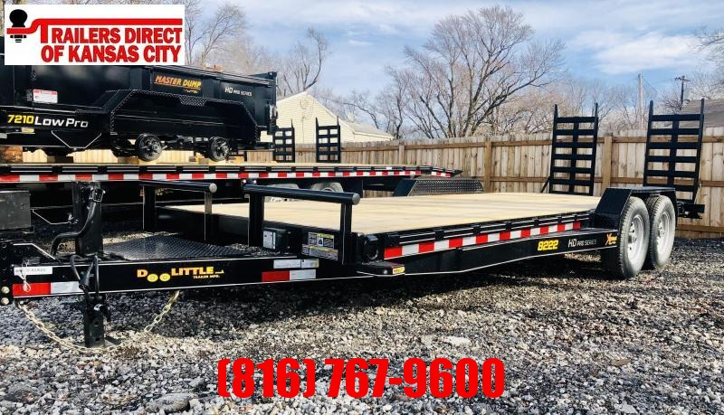 2021 Doolittle 82 x 22 XT Equipment Trailer