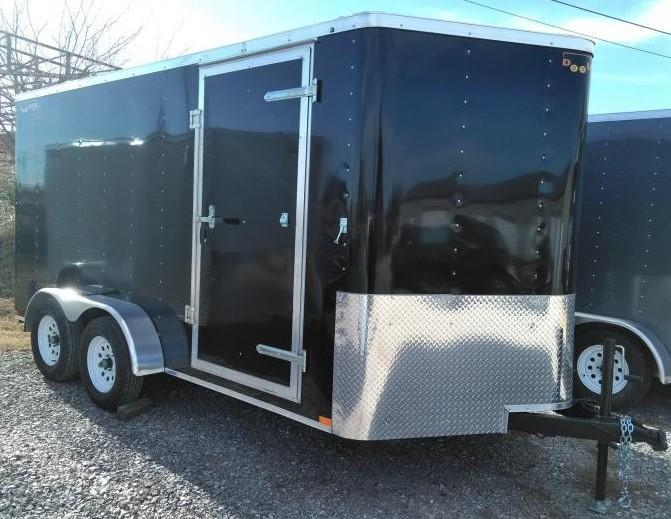 2021 Doolittle 7 X 14 Enclosed Cargo Trailer