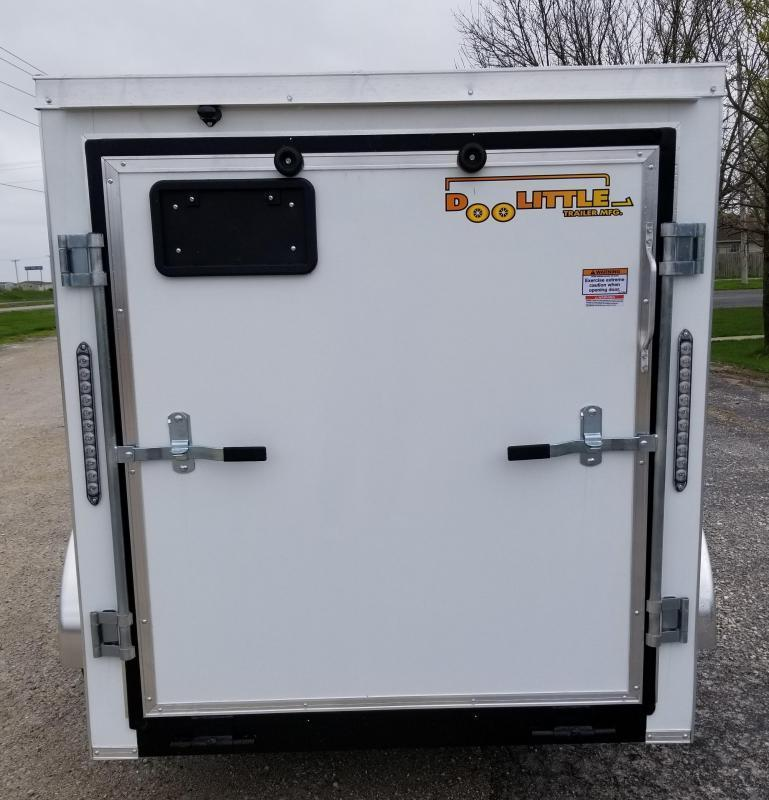 2021 Doolittle 5 x 8 Enclosed Cargo Trailer