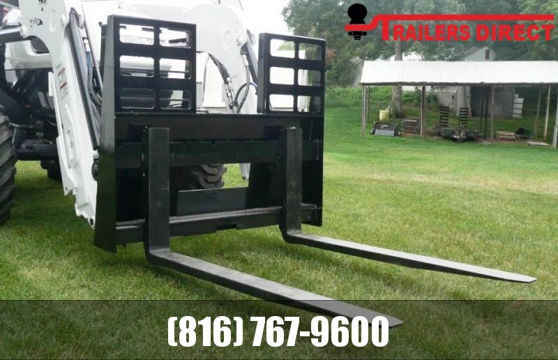 "2020 SkidPro 60"" Pallet Forks Attachment"