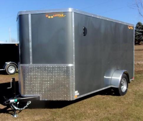 2022 Doolittle 6 X 12 Enclosed Cargo Trailer