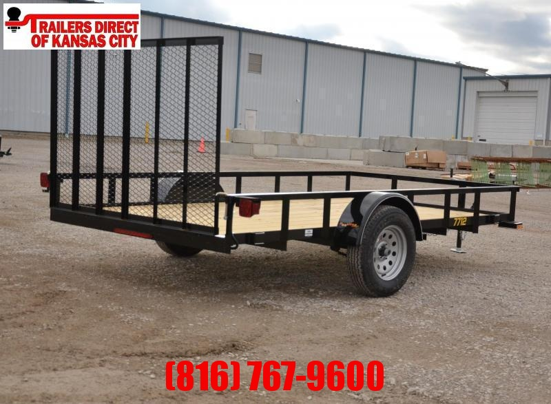 2021 Doolittle 77 x 12 Rally Sport Utility Trailer