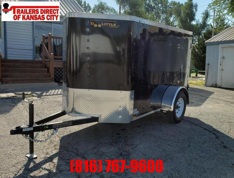 2021 Doolittle Trailer Mfg 5 X 8 Enclosed Cargo Trailer