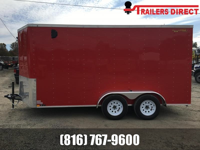 2021 Doolittle 7 x 14 Enclosed Cargo Trailer