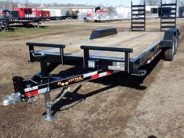 2021 Doolittle Trailer Mfg 84 x 20 CF Equipment Trailer