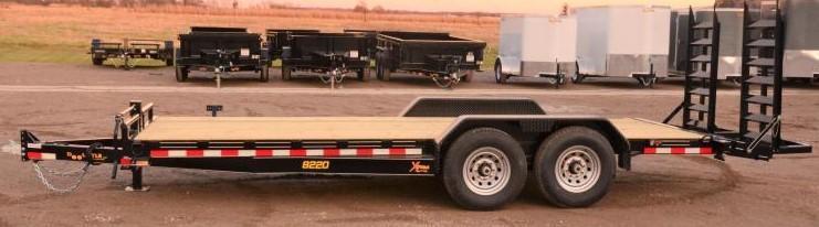 2020 Doolittle Trailer Mfg 82 X 20 Equipment Trailer