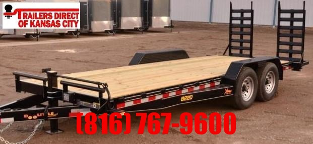2020 Doolittle Trailer Mfg 82 X 20 Equipment Trailer