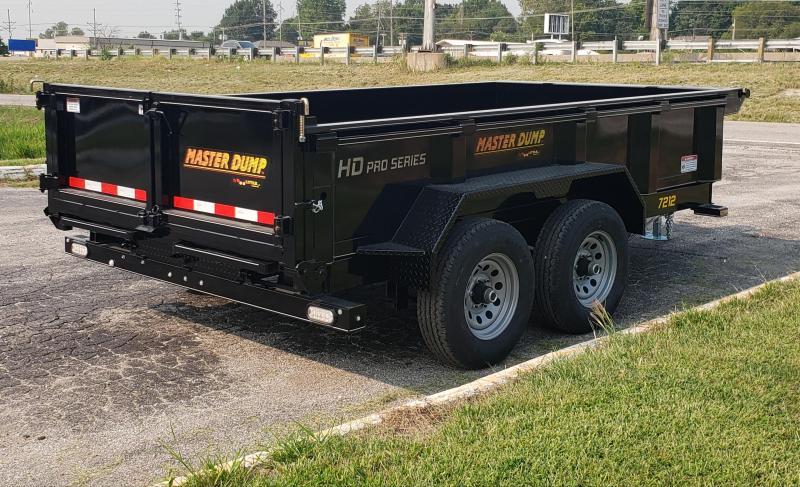 2021 Doolittle Trailer Mfg 72 X 12 Dump Trailer