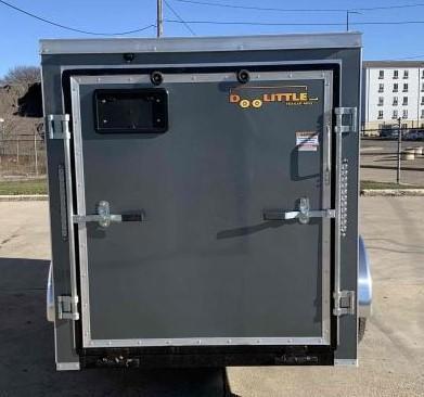 2021 Doolittle 6 x 10 Cargo Enclosed Cargo Trailer