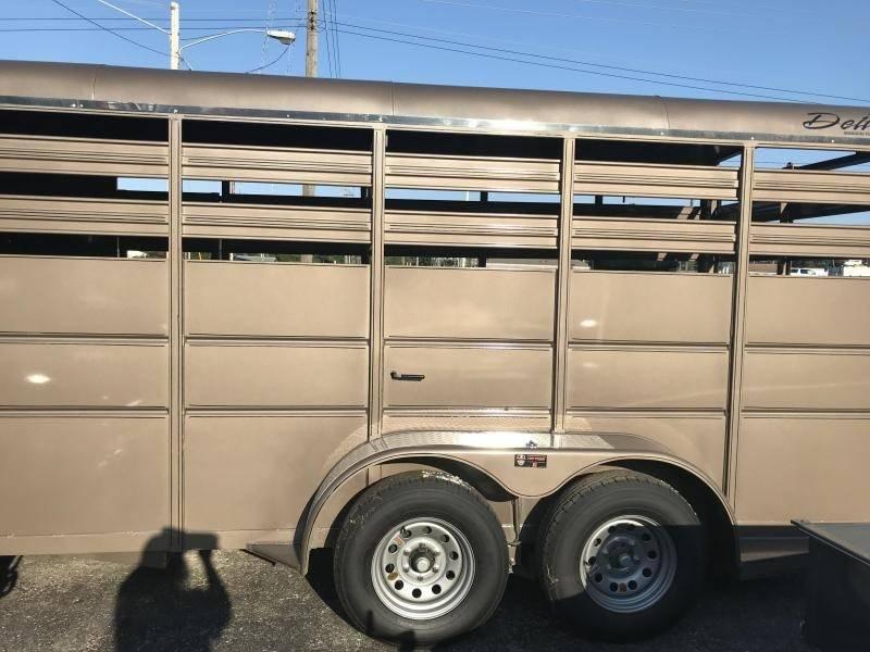 2020 Delta 6 x 14 Livestock Trailer