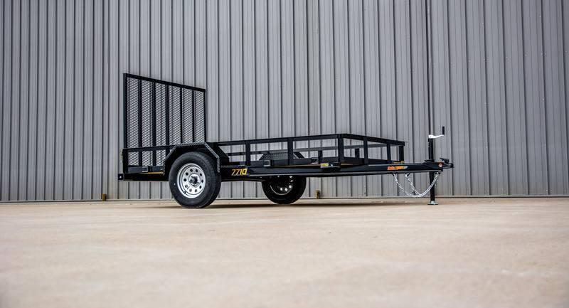 2021 Doolittle 77 x 10 Rally Sport Utility Trailer