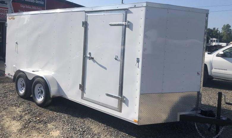2021 Doolittle 7 x 16 Enclosed Cargo Trailer