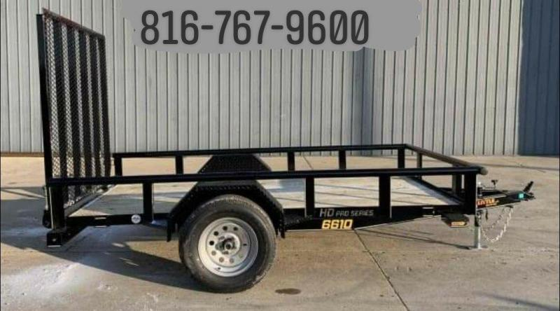 2021 Doolittle 66 x 10 Utility Trailer