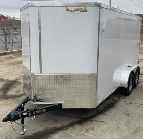 2022 Doolittle 7 x 14 Barn Door Enclosed Cargo Trailer