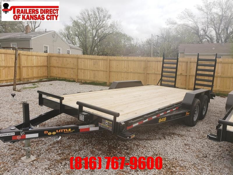 2020 Doolittle 84 x18 Xt Equipment Trailer