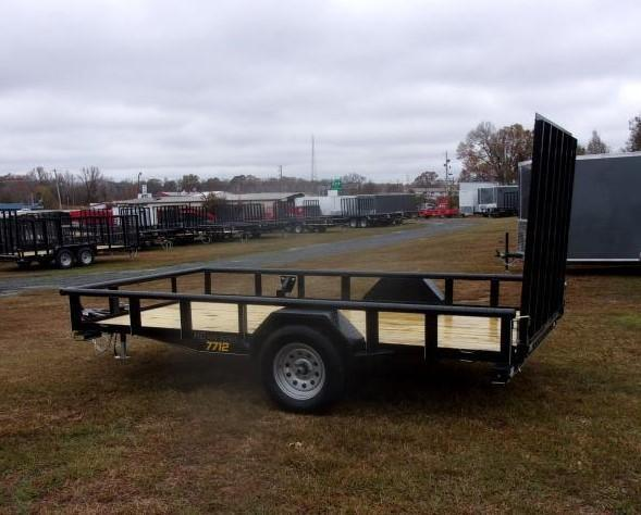 2021 Doolittle 77 x 12 Utility Trailer