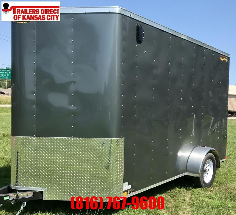 2020 Doolittle Trailer Mfg 7 x 12 Enclosed Cargo Trailer