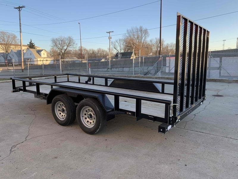 2021 Doolittle 77 x 16 Utility Trailer