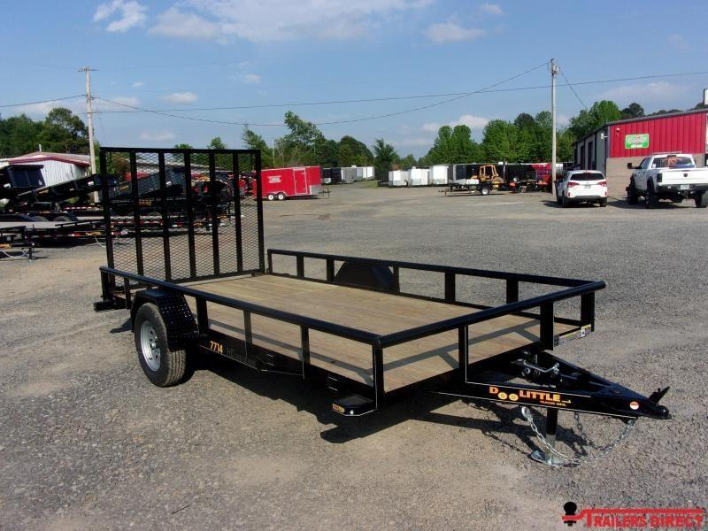 2020 Doolittle Pipe Top 77 x 14 Utility Trailer