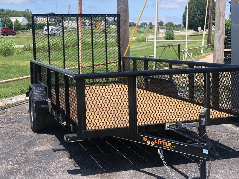 2021 Doolittle  77 x 14 2 ft Steel Sides Utility Trailer