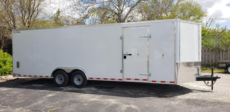 2021 Doolittle 8.5 X 24 Enclosed Cargo Trailer