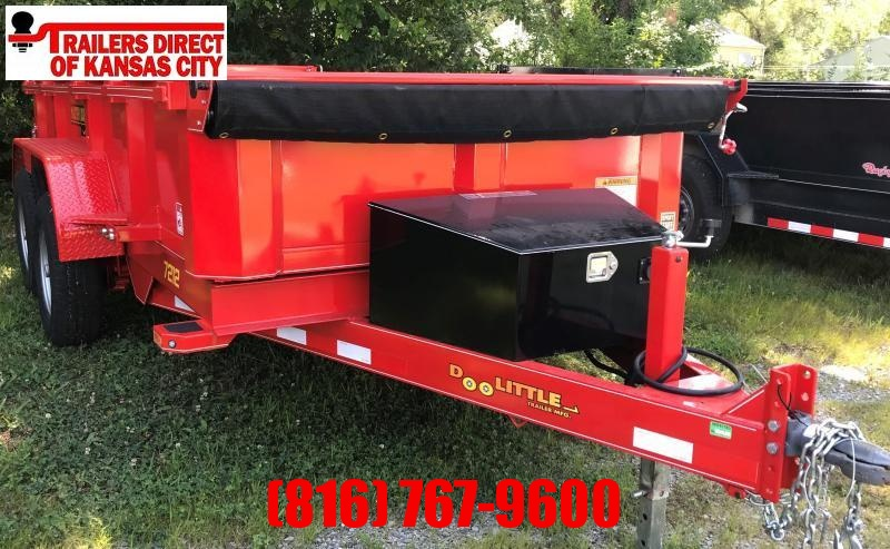 DOOLITTLE 72 X 12 DUMP TRAILER RENTAL #34